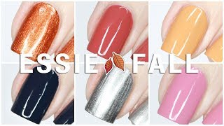 Essie Fall for NYC Fall 2018 Collection Live Swatches + Review