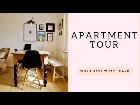 CPH VLOG: Small Apartment Tour In Copenhagen