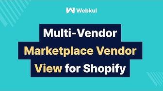 Multivendor Marketplace for Shopify: SELLER GUIDE (2019)