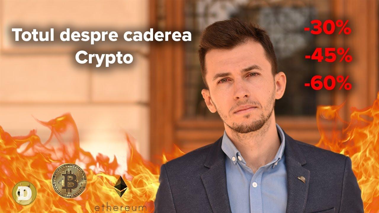 Motivul pentru care a picat piața de crypto în acest weekend