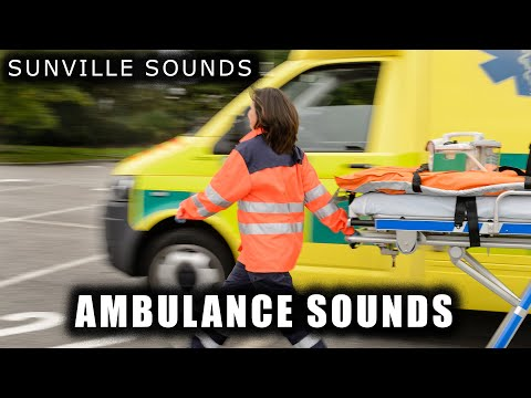 1 Hour Of Ambulance SIREN