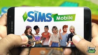 SAIU! FINALMENTE THE SIMS MOBILE 4 OFICIAL PARA ANDROID E IPHONE