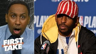 Download 'Where the hell are you Chris Paul?' - Stephen A. rants about CP3's Game 5 performance   First Take Mp3 and Videos