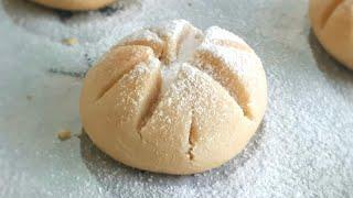 3 MALZEMELİ MARGARİNSİZ UN KURABİYESİ NASIL YAPILIR?💯✅ | pasta ve kurabiye tarifleri
