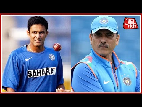 Anil Kumble Pips Ravi Shastri To Become Head Coach Of Indian Cricket Team