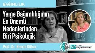 Yeme Bağımlılığının En Önemli Nedenlerinden Biri Psikolojik-Prof. Dr.  Nesrin Dilbaz