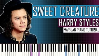 How To Play: Harry Styles - Sweet Creature | Piano Tutorial