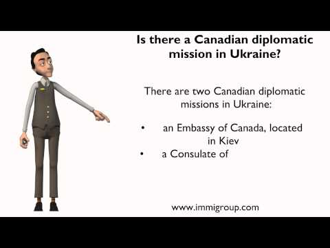 Is there a Canadian diplomatic mission in Ukraine?