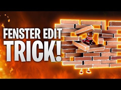 FENSTER EDITIER TRICK! 📋 | Fortnite: Battle Royale