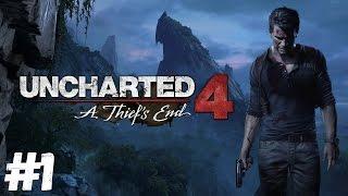Uncharted 4: A Thief's End. Стрим-прохождение #1