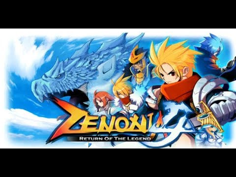 Zenonia 4: Training to get more gold Blader Lvl.50