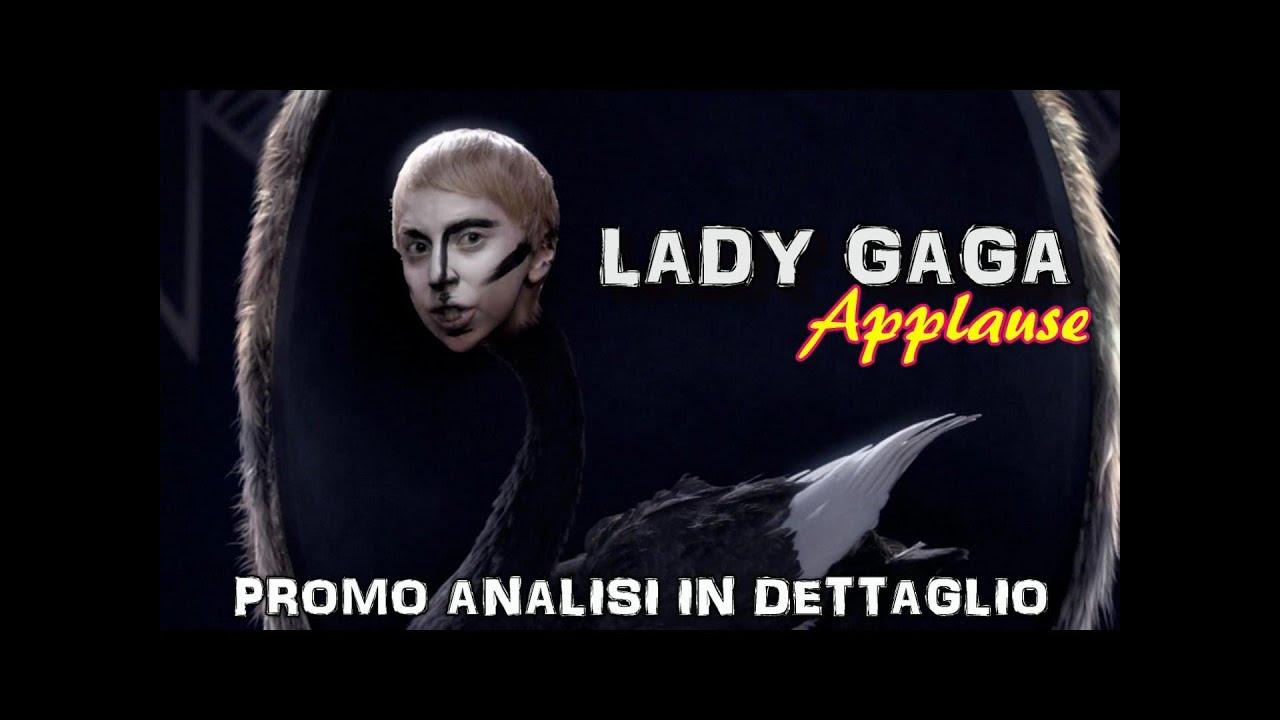 Lady Gaga e gli Illuminati - Applause [PROMO Analisi in ... Lady Gaga Applause Promo