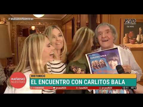 ¡Las Trillizas De Oro Se Reencuentran Con Carlitos Balá!