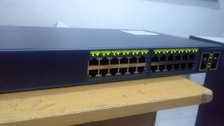 Cisco Catalyst 2960 Plus 24 10 100 PoE + 2 T SFP LAN Lite