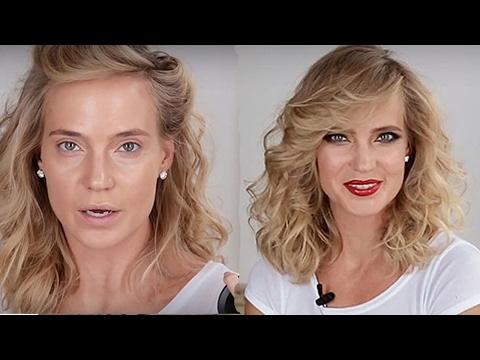 фото звезд в макияже и без