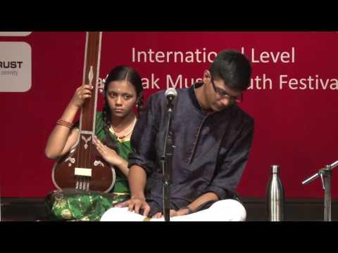 Kalavanta 2016 - Vocal Concert by S Adithyanarayan (Tamil Nadu)