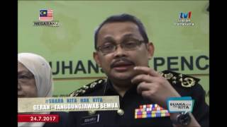 SUARA KITA HAK KITA – RASUAH: NAK SELAMAT, JANGAN DEKAT [24 JULAI 2017] thumbnail