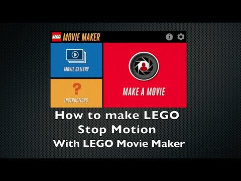 How To Make Lego Stop Motion Videos With Lego Movie Maker App