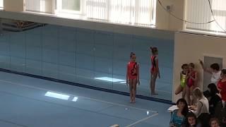 Спортивная гимнастика. Янина. 3 взрослый разряд.