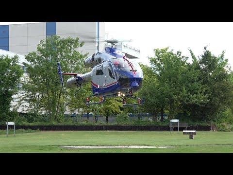 Air Rescue 3 Luxembourg Air Rescue startet an Kinderklinik Sankt Augustin am 09.08.17