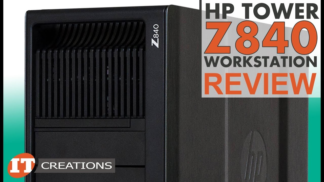 HP Z840 Workstation Review - YouTube