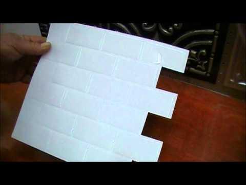 sm1020 subway white smart tile youtube. Black Bedroom Furniture Sets. Home Design Ideas