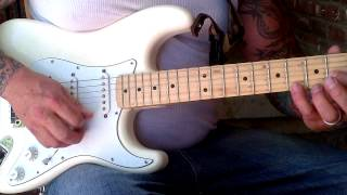Anthony Gallo - how to play Suicidal Failure (intro Solo) by Suicidal Tendencies