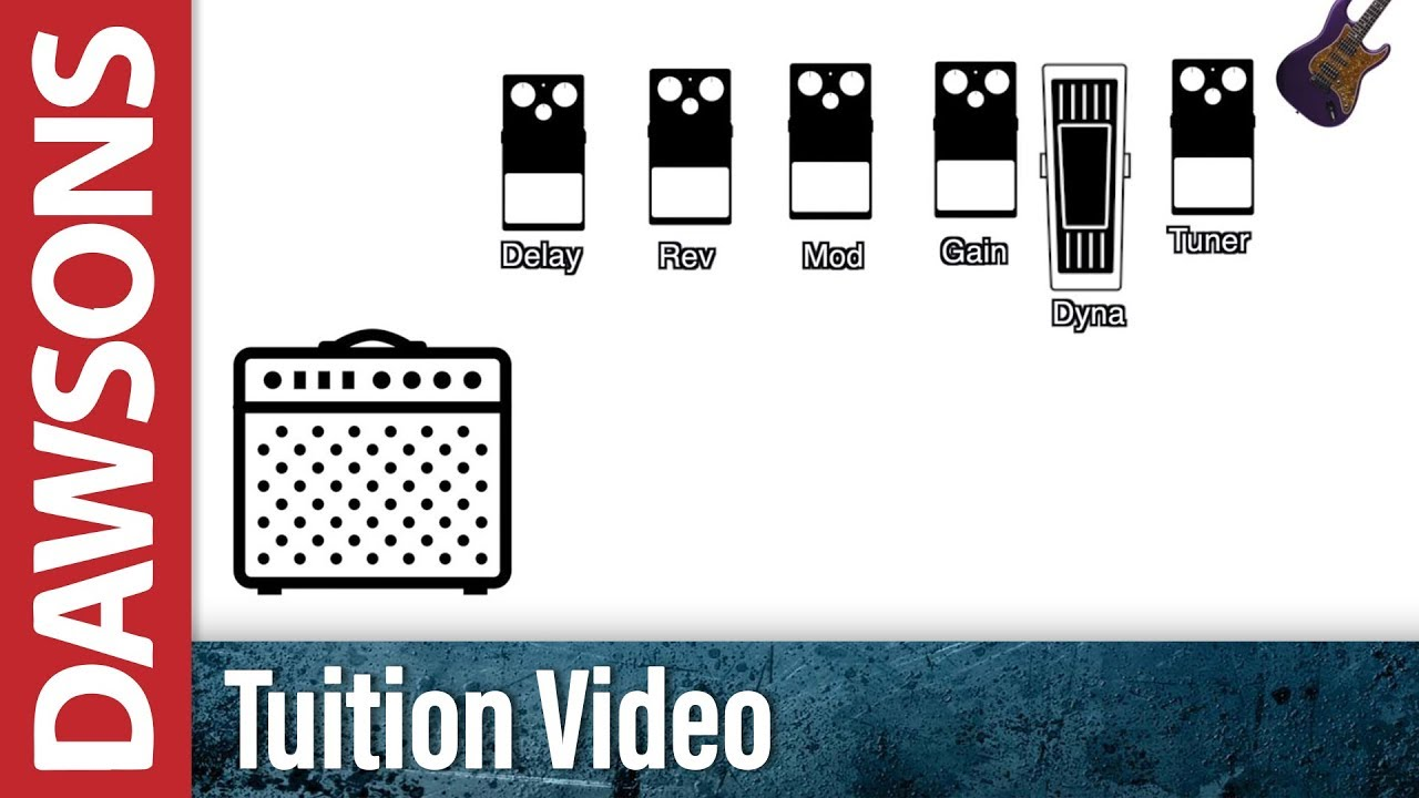 How To Use The Effects Loop On Your Amp | Dawsons Music