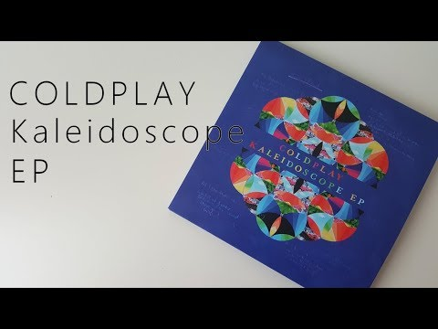Unboxing Coldplay Kaleidoscope EP