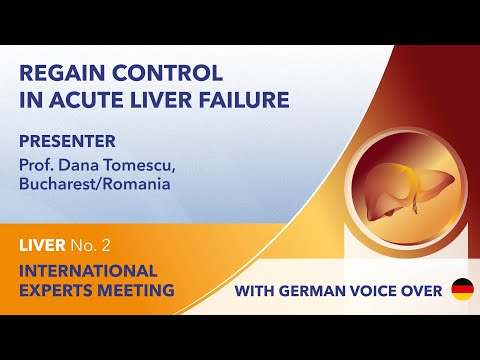 Regain control in Acute Liver Failure | Dana Tomescu | Liver Webinar No. 2 | 2021