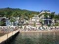 SENTIDO ORKA LOTUS BEACH 5*/HV1. Обзор пляжа отеля. Турция, Мармарис, Ичмелер. Эгейский регион.
