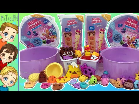 NUM NOMS Slime Dippers | Num Noms Snackables Cereal | Angka Lendung Beraroma