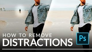 How to Quickly Remove Distractions in Photoshop