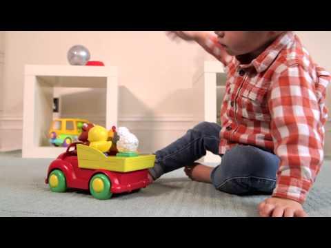 Sort 'n' Pop Farmyard Friends Truck (Transport Truck by TOMY) - ToySeek