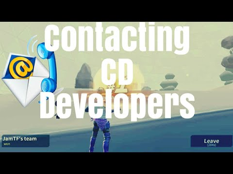 Contacting CD Developers THEY Might ADD(Jumping Ramp) (Emotes) *NEW CONTENT*