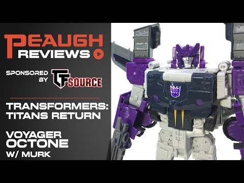 Video Review: Titans Return Voyager OCTONE w/ Murk