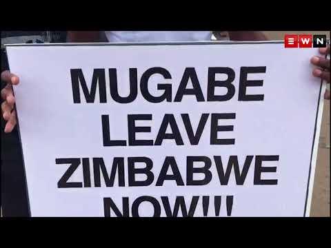 Zimbabwe take to the streets, calls for Mugabe to go