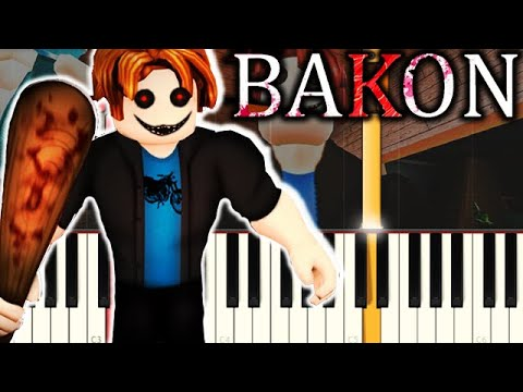 Bacons Adventure Part 6 Roblox Story Lookhitcom Bakon Roblox Game Theme On Piano Youtube
