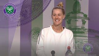 Alison Riske Fourth Round Press Conference Wimbledon 2019