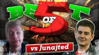 Kamyk vs Junajted(Mistrz Polski FUT) BO5. Mecz (5/5) - OSTATNI MECZ!