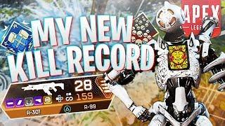 MY NEW KILL RECORD! - PS4 Apex Legends