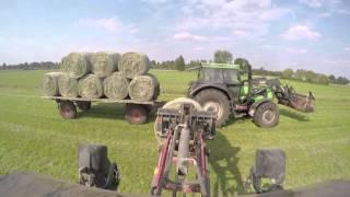 [GoPro] Heu Fahren mit Weidemann 1260 Und DX 6.30