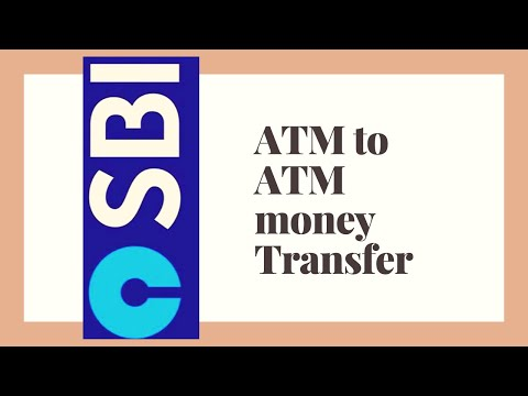 Money Transfer through ATM (SBI)