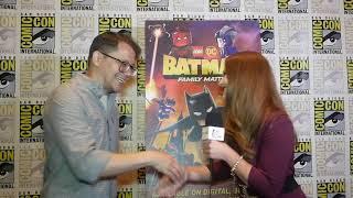 Comic Con 2019 Matt Peters From LEGO DC: Batman: Family Matters