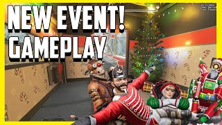 Apex Legends Holo-Day Bash Gameplay! New Winter Express Mode and Mirage Town Takeover First Look!