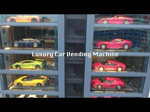Vending Machine in Singapore Serves up Luxury Vehicles