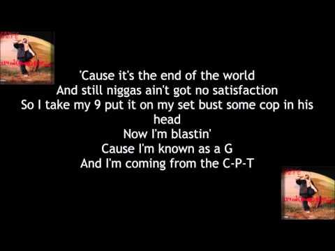 Eazy-E - Any Last Werdz [lyrics]