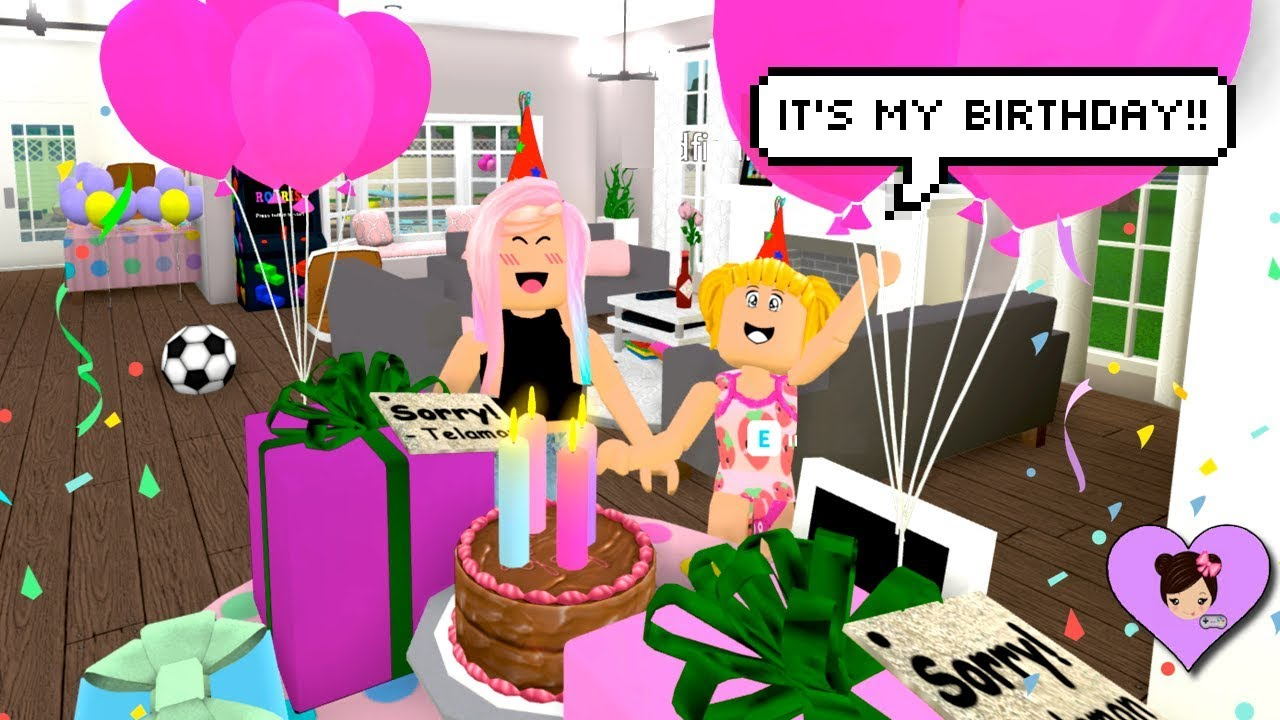 Celebrating Baby Goldies Birthday In Roblox Bloxburg Party - 21 best roblox birthday party images party birthday parties