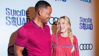 Suicide Squad Fan Experience Red Carpet: Will Smith and Margot Robbie thank Toronto