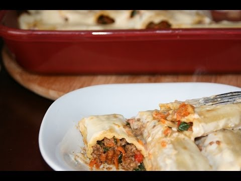 recette-manicottis-farcis-à-la-viande-hachée---recettes-maroc